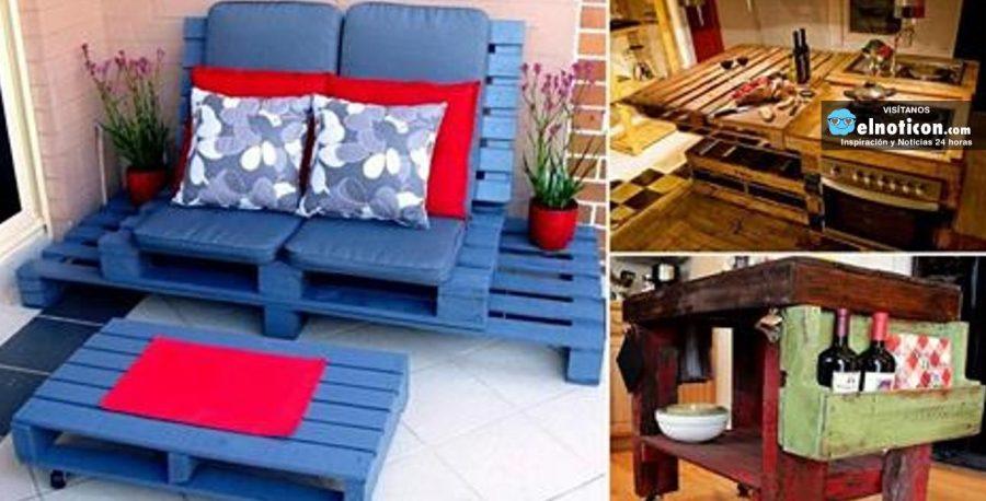 reciclado de palets ideas para tu hogar
