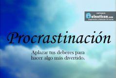 Definición de Procrastinación