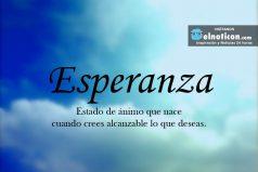 Definición de Esperanza