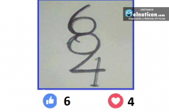 ¿Cuántos números ves?