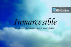Definición de Inmarcesible