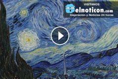 La replica gigantezca de 'La noche estrellada' de Van Gogh