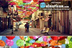 Una forma creativa para vencer al calor en las calles de Portugal