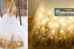 Mira los increibles vestidos que hace esta diseñadora de 18 años