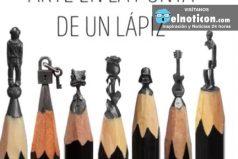 Arte en la punta de un lápiz