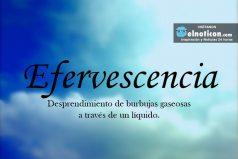 Definición de Efervescencia