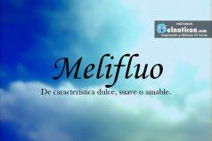 Definición de Melifluo
