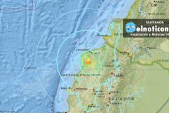 Se registra un sismo de magnitud 6,7 en Ecuador