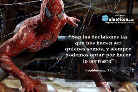 """""""Son las decisiones las que nos hacen ser quienes somos…"""