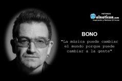 """""""La música puede cambiar el mundo…"""
