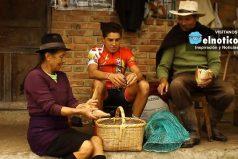 La razón porque los mejores ciclistas de Colombia son campesinos, ¡alimentación de puro campo!
