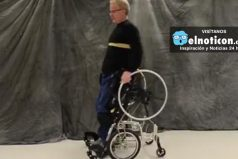 This amazing wheelchair prototype is helping its users stand upright