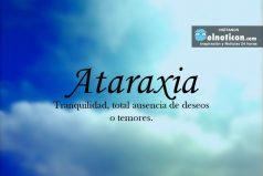 Definición de Ataraxia