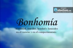 Definición de Bonhomía