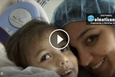 Once blind, this little girl is about to see her mom for the very first time