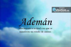 Definición de Ademán