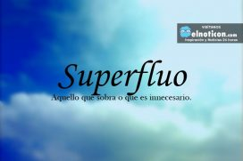 Definición de Superfluo