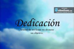 Definición de Dedicación