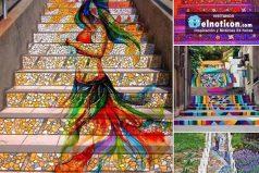 Coloridas escaleras por el mundo