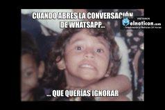 Cuando abres la conversación de whatsapp…