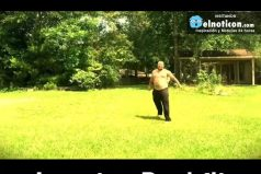 Redneck Pulls Off Amazing Backflip