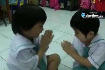 Así comienza el día en una escuela en Tailandia