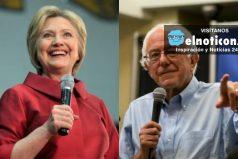 Hillary Clinton y Bernie Sanders, un duelo interesante por la nominación demócrata a las elecciones presidenciales