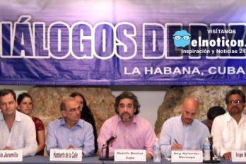 Termina nuevo ciclo de negociación en La Habana