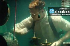 La primera banda que hace música en el agua ¡Son increíbles!