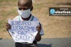 Oliver Sánchez, el niño que conmovió a Venezuela perdió la batalla contra el cáncer por falta de medicamentos