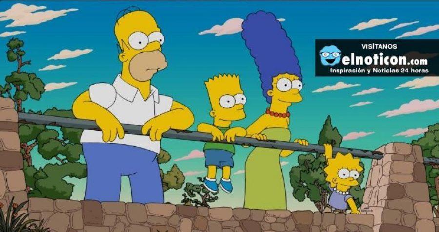 Los Simpson llegan a su capítulo 600 y hacen un homenaje a las películas 'Mad Max' y 'Los juegos del hambre'
