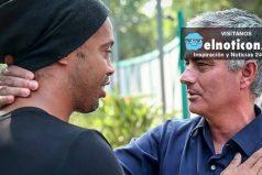 ¿Qué hacen José Mourinho y Ronaldinho en México?