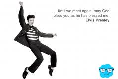 Elvis Presley bendecido por Dios