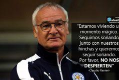 Esto dijo Claudio Ranieri, al saber que su equipo es el ganador de la Premier League