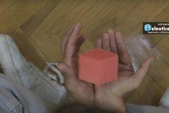 Mira cómo hacer un cubo que levita ¡IMPRESIONANTE!