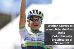 Esteban Chaves, nuevo líder del Giro de Italia ¡Orgullo colombiano!
