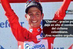 Esteban Chaves, orgullo colombiano ¡Gracias!