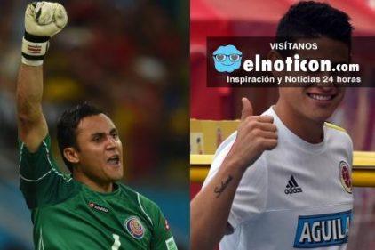James Rodríguez será rival de uno de sus compañeros, mira de quién se trata