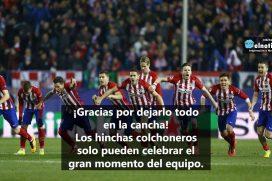 ¡Gracias Atlético de Madrid!