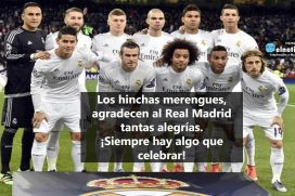 ¡Gracias Real Madrid!