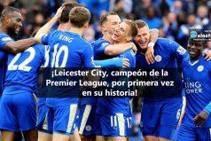 Leicester City, campeón de la Premier League
