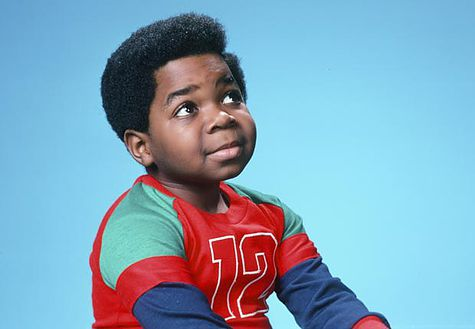 Actor Gary Coleman as Arnold Jackson in Diff'rent Strokes, Child stars