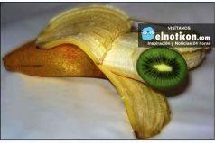 ¿Cómo hacer crecer un kiwi dentro de una banana? ¡Quedarás asombrado!