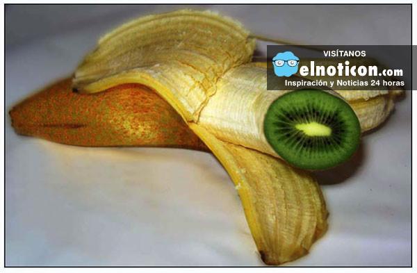 Hacer crecer una kiwi dentro de una banana