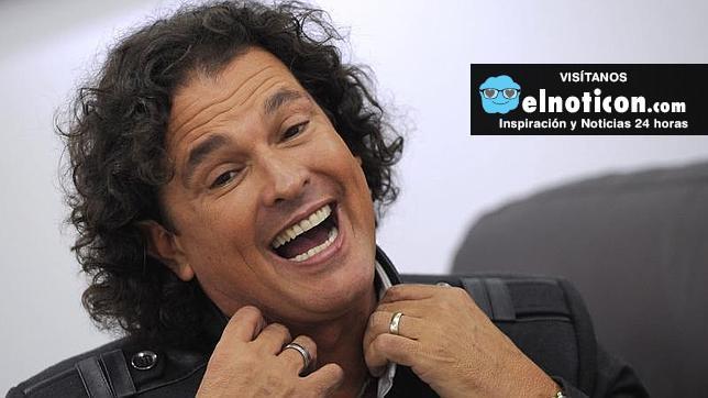 Carlos vives es feliz