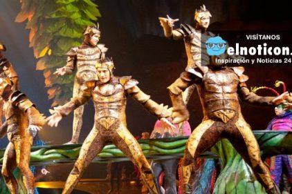 El espectáculo del Circo del Sol inspirado en México