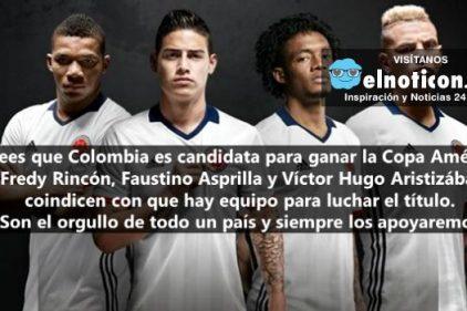 ¿Crees que Colombia es candidata para ganar la Copa América Centenario?
