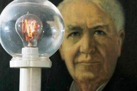 Thomas Edison fue un brillante inventor gracias a su madre. ¡Feliz día Mamas!