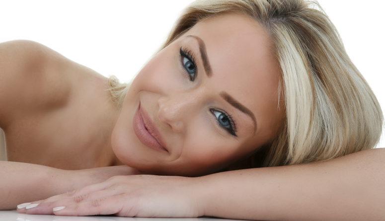 Skin Health. Makeup