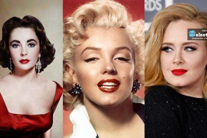 12 labios rojos inolvidables que han conquistado el mundo